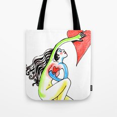 Journey Back to Love Tote Bag