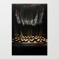 The Teethwriter Canvas Print