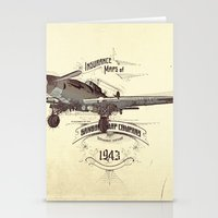 1943 Caza Stationery Cards