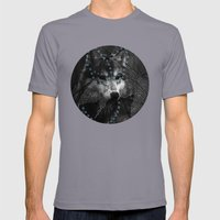 Forest Spirit Mens Fitted Tee Slate SMALL