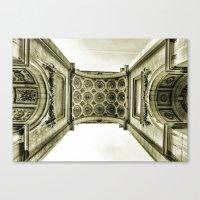 Arch Du Cinquantenaire Canvas Print