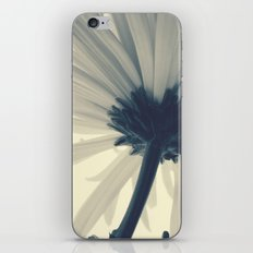 White flower iPhone & iPod Skin