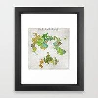 Final Fantasy VI - World… Framed Art Print