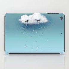 crying cloud iPad Case