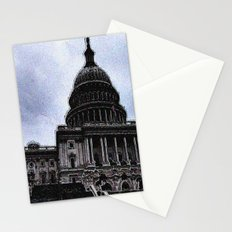 Storm over Capitol Stationery Cards