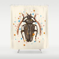 INSECT VIII Shower Curtain