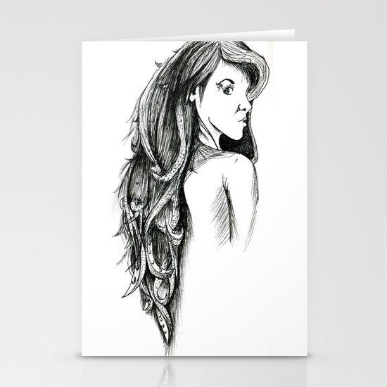 Hair Stationery Card