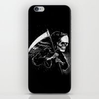 DEATH WILL HAVE HIS DAY iPhone & iPod Skin