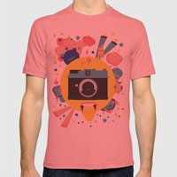 Having Too Much Fun To T… Mens Fitted Tee Pomegranate SMALL