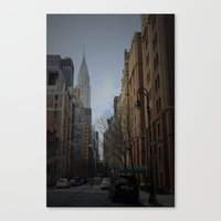 NY bluff Canvas Print