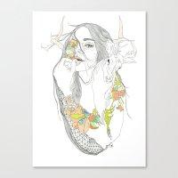 colour blind Canvas Print
