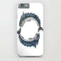 Fish Circle iPhone 6 Slim Case