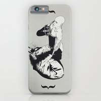iPhone Cases featuring checkmate by Tom Kitchen