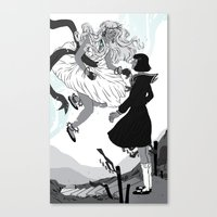 Magical Girls Canvas Print