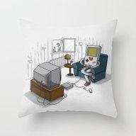 True Computer Love Throw Pillow
