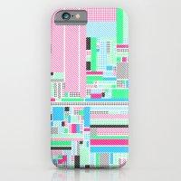 Pink, Blue & Green iPhone 6 Slim Case