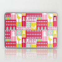 Festive Christmas Collag… Laptop & iPad Skin