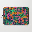 CRAZY FLOWERS Laptop Sleeve