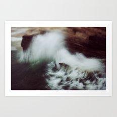 Guadalupe Wave Art Print