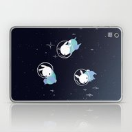 Space Bunnies Laptop & iPad Skin