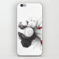 MUSIC - Pencil Portrait … iPhone & iPod Skin
