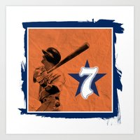 Retro Biggio Art Print