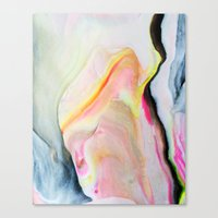 Marbled One Canvas Print