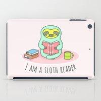 Reading Sloth iPad Case