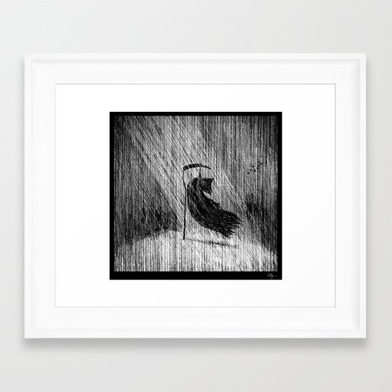 Death of Death Framed Art Print