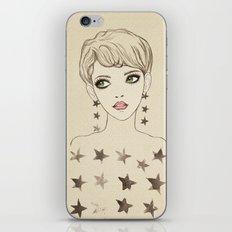 Star Girl iPhone & iPod Skin
