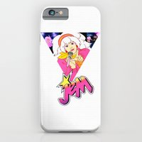 iPhone & iPod Case featuring JEM AND THE HOLOGRAMS by Ylenia Pizzetti