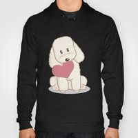 Toy Poodle Dog With Love… Hoody