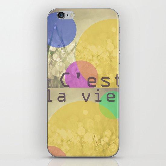 c'est la vie. iPhone & iPod Skin