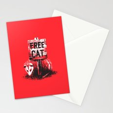 Free cat Stationery Cards
