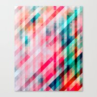 Colorful Geometric Pattern Canvas Print
