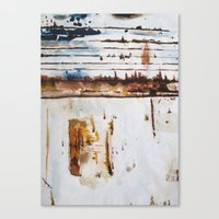 Rust Study Canvas Print