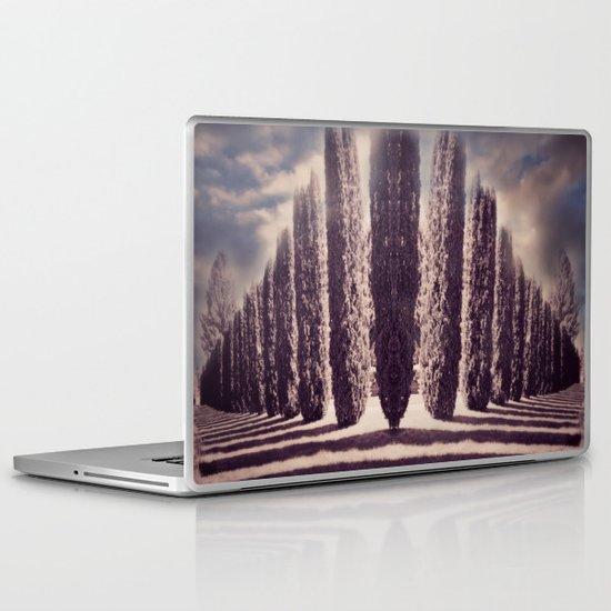 Diagonal Thoughts Laptop & iPad Skin