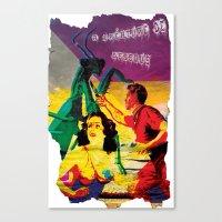 Lost Cover Canvas Print