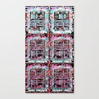Scrambled Canvas Print
