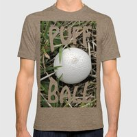 Fungus Growing In Queens… Mens Fitted Tee Tri-Coffee SMALL