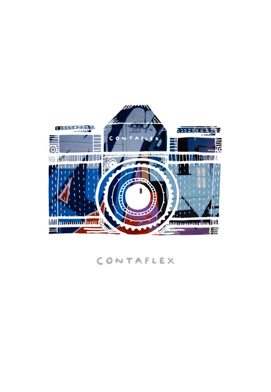 Contaflex Art Print