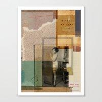 WHERE LOVERS LIE// Canvas Print