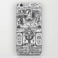 iPhone & iPod Skin featuring Legend Of Zelda - The Th… by Barrett Biggers
