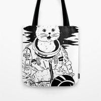 Lolcatronaut Tote Bag