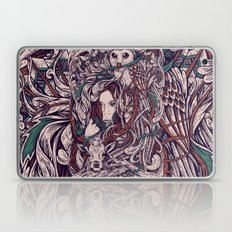 Girl And Friends Laptop & iPad Skin