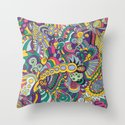 Laissez les bons temps rouler Throw Pillow