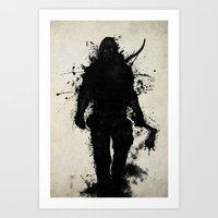 Apocalypse Hunter Art Print
