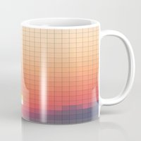 Geometric Sunset Mug