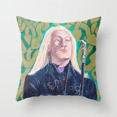 Lucius Malfoy Throw Pillow