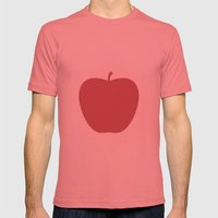 Apple 27 Mens Fitted Tee Pomegranate SMALL